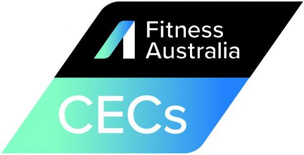 Fitness Australia CEC accreditation badge