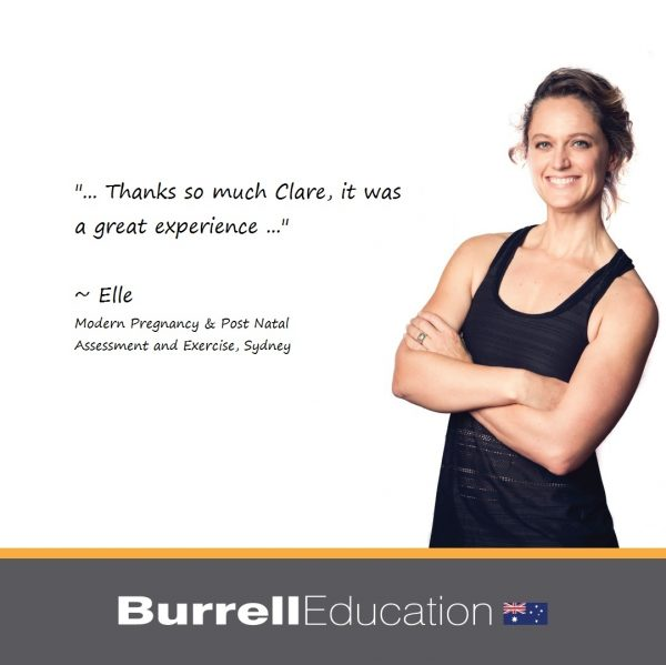 Elle from Ellevate Personal Training had a great experience with Burrell Education's virtual live online course