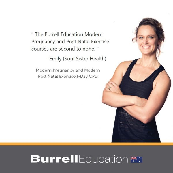 Emily from Soul Sister Health says Burrell Education Courses are second to none