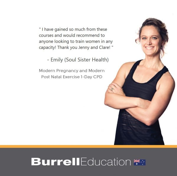 Emily from Soul Sister Health says how helpful this pre and post natal course has been