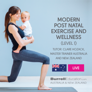 Modern Post Natal Exercise and Wellness Live badge